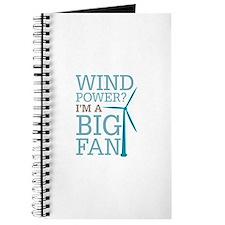 Wind Power Big Fan Journal