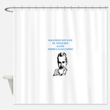 pinochle Shower Curtain