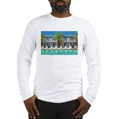 Art At The Lafayette Hotel Long Sleeve T-Shirt