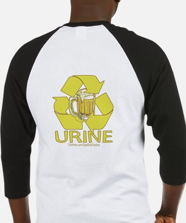 Recycle Urine Baseball Jersey