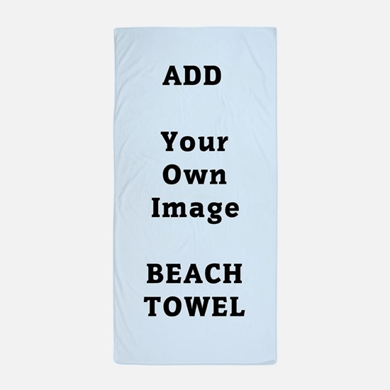 Add Image Beach Towel