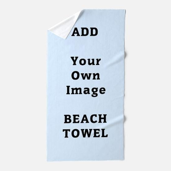 Add Image Beach Towel