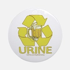 Recycle Urine Ornament (Round)