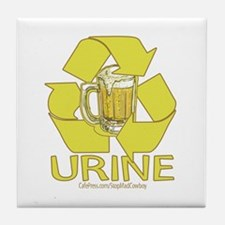 Recycle Urine Tile Coaster