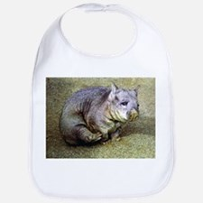 Wombat With an Itch Bib