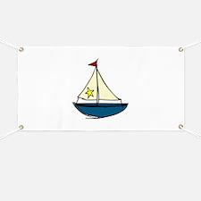 Sail Boat Banner