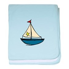 Sail Boat baby blanket