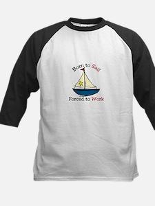 Born To Sail Baseball Jersey
