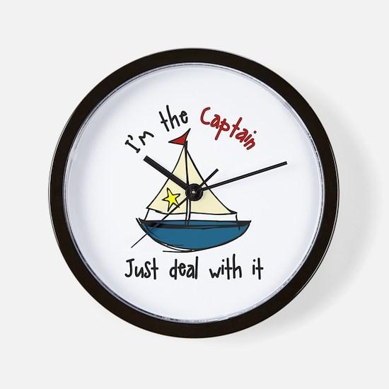 Im The Captain Wall Clock