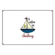 Rather Be Sailing Banner