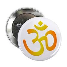 Sacred Symbol Om Button