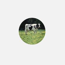 I Love You Cow Mini Button