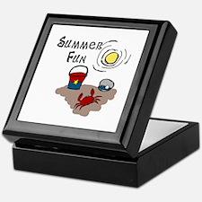 Summer Fun Keepsake Box