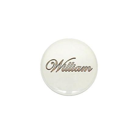 William Mini Button (10 pack)