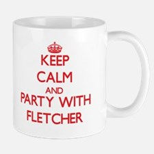 Keep calm and Party with Fletcher Mugs