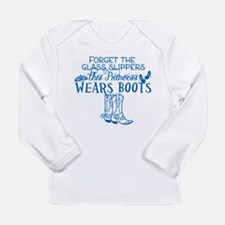Princess in Boots Long Sleeve T-Shirt