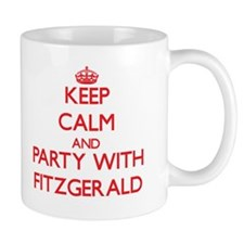 Keep calm and Party with Fitzgerald Mugs