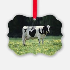 I Love You Cow Ornament