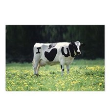 I Love You Cow Postcards (Package of 8)