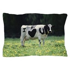 I Love You Cow Pillow Case