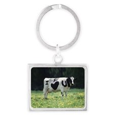 I Love You Cow Keychains