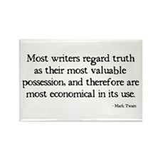 Writers Truth Rectangle Magnet