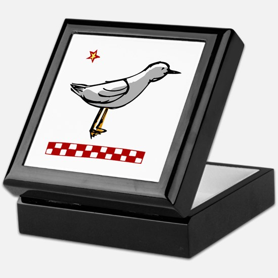 Shore Bird Keepsake Box