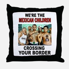 MEXICAN IMMIGRANTS Throw Pillow