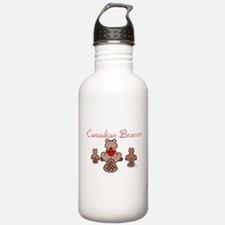Canadian Beaver Sports Water Bottle