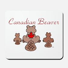 Canadian Beaver Mousepad