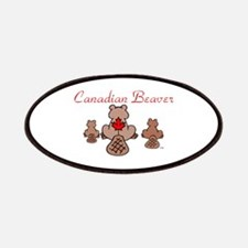Canadian Beaver Patches