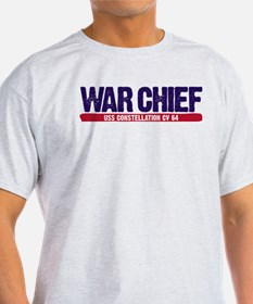 War Chief Uss Constellation T-Shirt