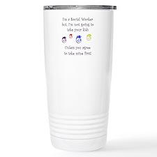 Unique School social worker Travel Mug