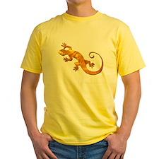 Golden Yellow Gecko T