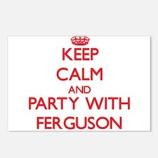 Keep calm and Party with Ferguson Postcards (Packa