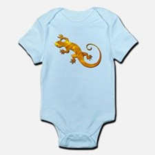 Golden Yellow Gecko Infant Bodysuit