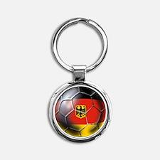 German Soccer Ball Keychains