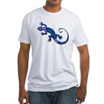 Blue Gecko Fitted T-Shirt