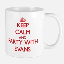 Keep calm and Party with Evans Mugs