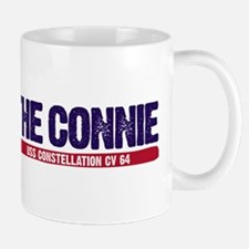 The Connie Uss Constellation Cv 64 Light Mugs