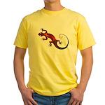 Fire Red Gecko Yellow T-Shirt
