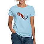 Fire Red Gecko Women's Light T-Shirt