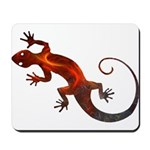 Fire Red Gecko Mousepad