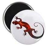 Fire Red Gecko Magnet