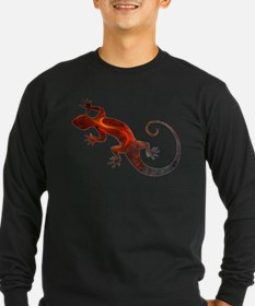 Fire Red Gecko T