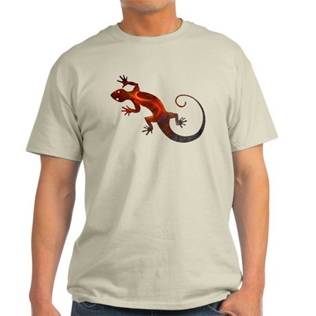 Fire Red Gecko Light T-Shirt