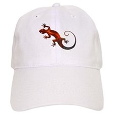 Fire Red Gecko Baseball Cap