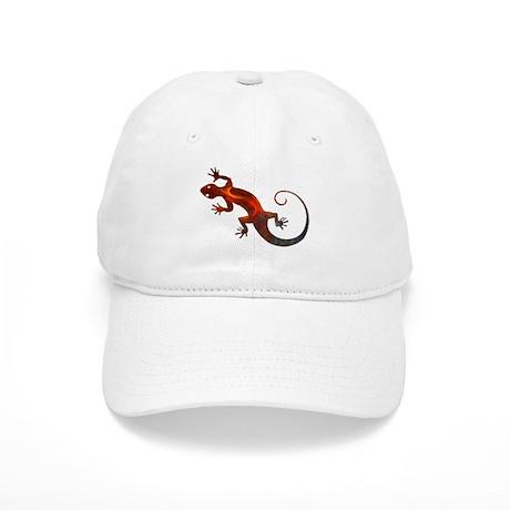 Fire Red Gecko Cap