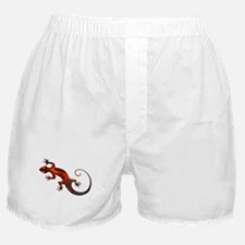 Fire Red Gecko Boxer Shorts
