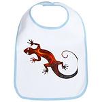 Fire Red Gecko Bib